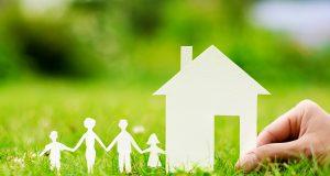 Familie og hus